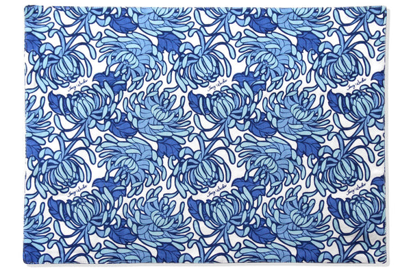 Blue Bloom Placemat - Set of 4
