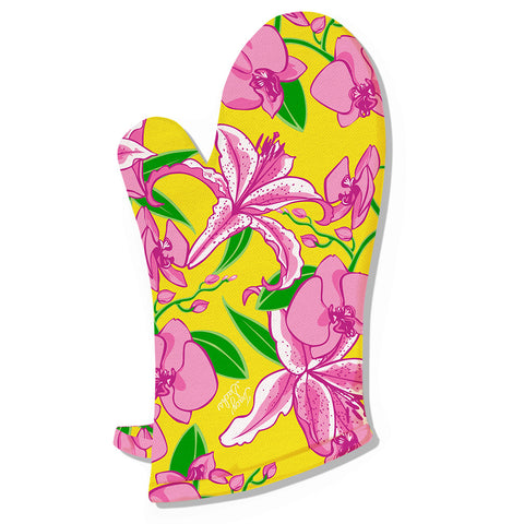 Morning Stargazer Oven Mitt - Set of 4