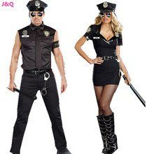 Women Police Costume  Sexy Cop Uniform