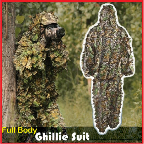 Leaf Ghillie Suit -  - Dnerds.com