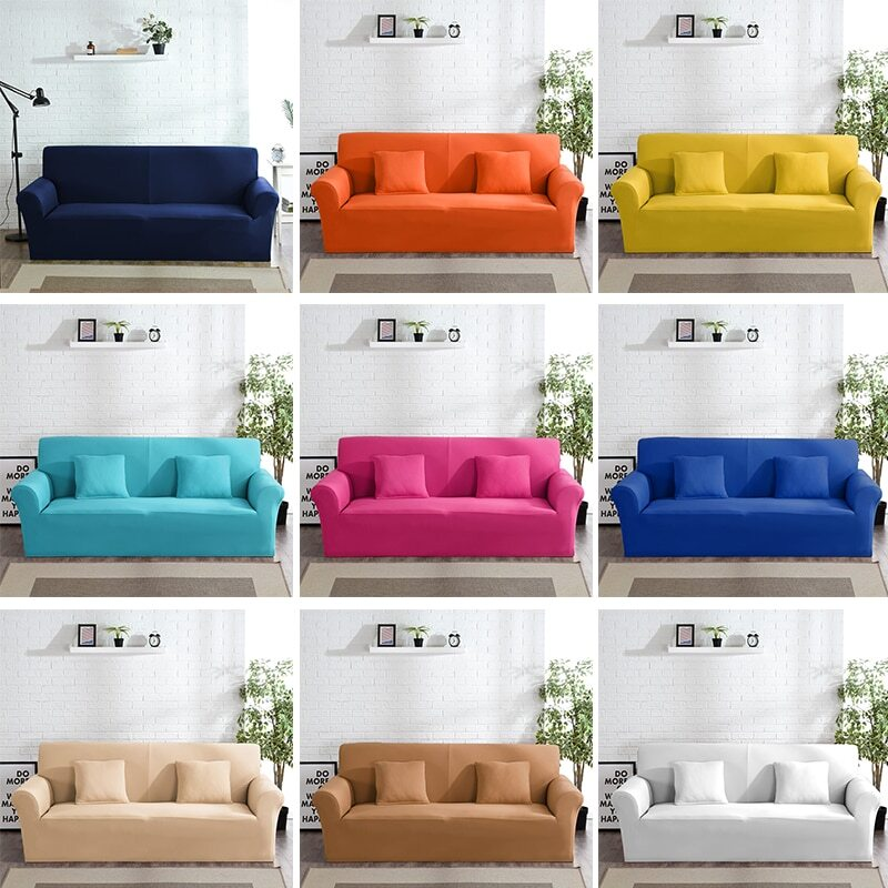 SOFA COVER - COUCH SECTIONAL PROTECTOR WATERPROOF STRETCH PET PROOF SLIPCOVER -  - Dnerds.com
