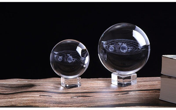 3D SOLAR SYSTEM CRYSTAL BALL -  - Dnerds.com