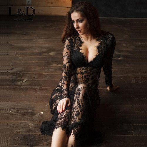 Sexy See Through Dress -  - Dnerds.com