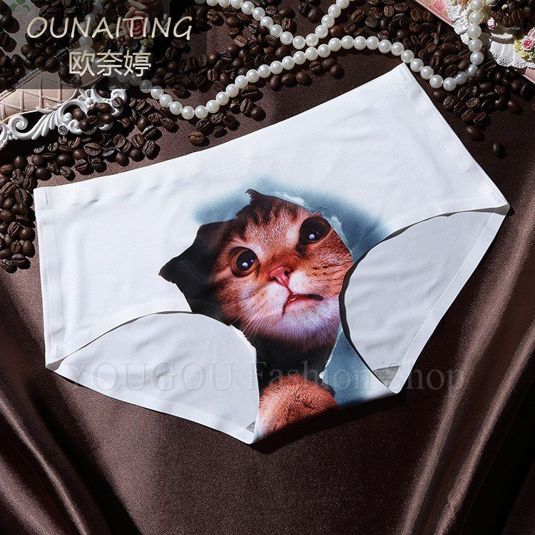 Sexy Cats Print Underwear Women -  - Dnerds.com