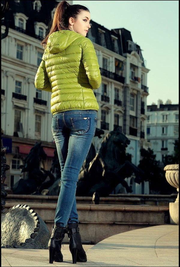 Cotton Hooded Women Jacket  for the Winter - fashion - Dnerds.com
