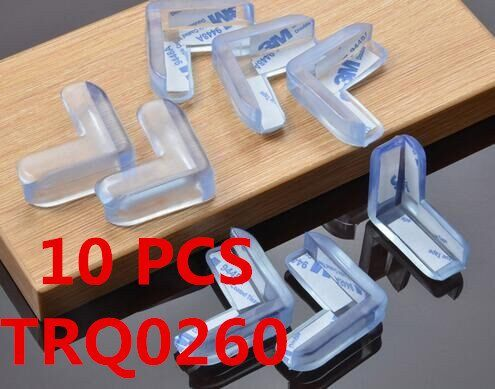 10Pcs Child Safety Silicone Table Edge Protection - baby - Dnerds.com