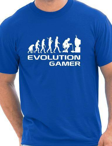 Evolution Of A Gamer T shirt -  - Dnerds.com