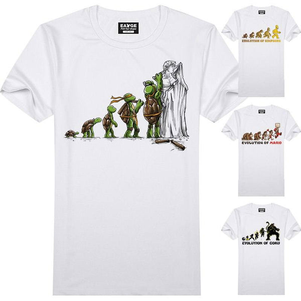 Evolution Series T Shirt  Geek Tee