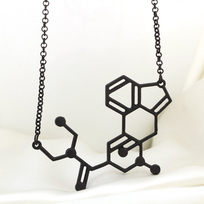 Molecular Formula necklace Chemical Formula pendant jewelry Geek Science Student - accessories - Dnerds.com