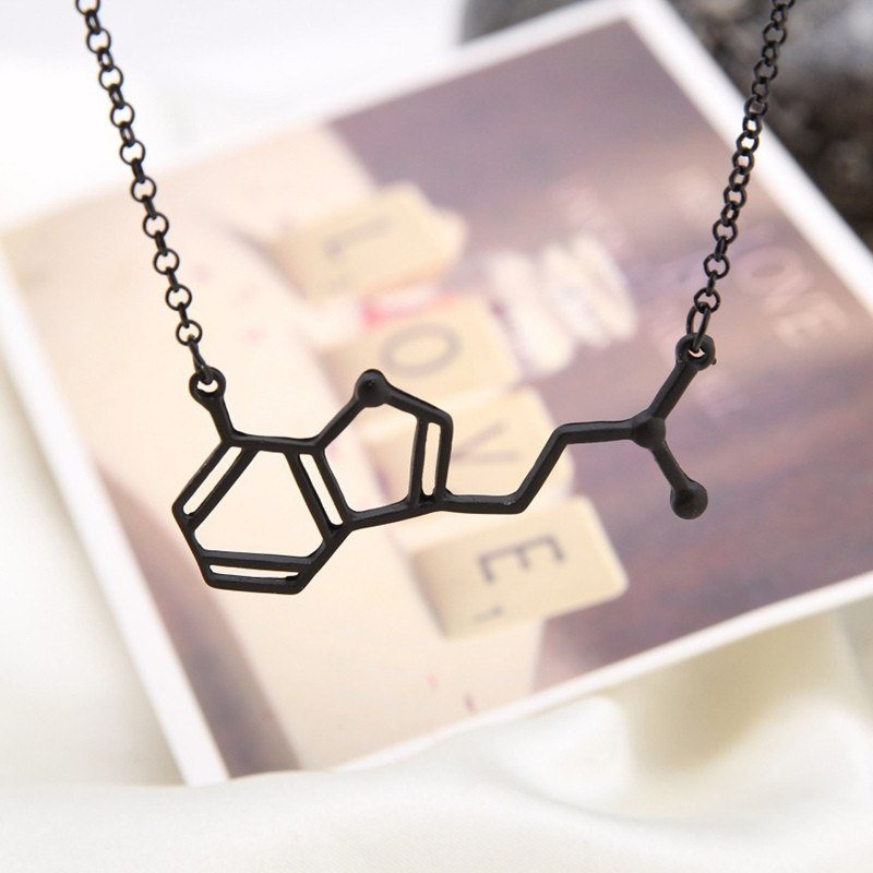 Molecular Formula necklace Chemical Formula pendant jewelry Geek Science Student