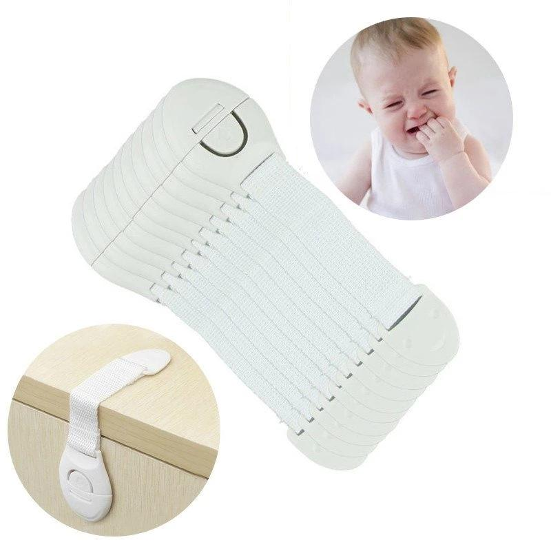 10Pcs Child Door Safety Lock - baby - Dnerds.com