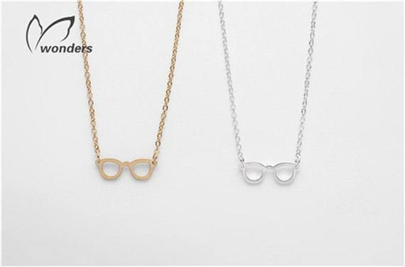 Geek Chic Eye Glasses Necklace Book Lover Gift -  - Dnerds.com