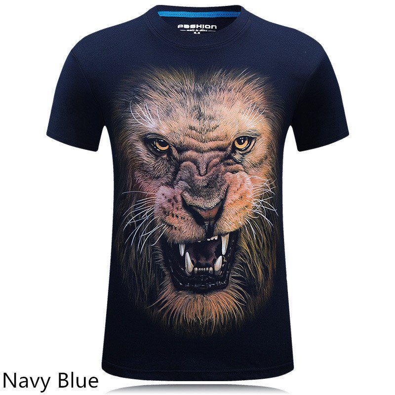 Cool Lion and Monkey T-shirt