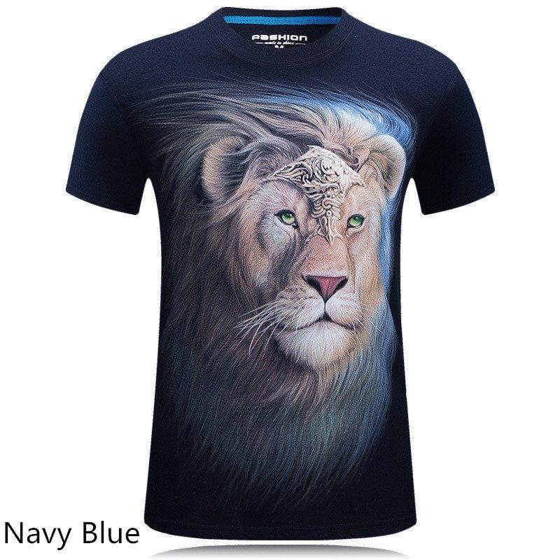 Cool Lion and Monkey T-shirt - lion - Dnerds.com