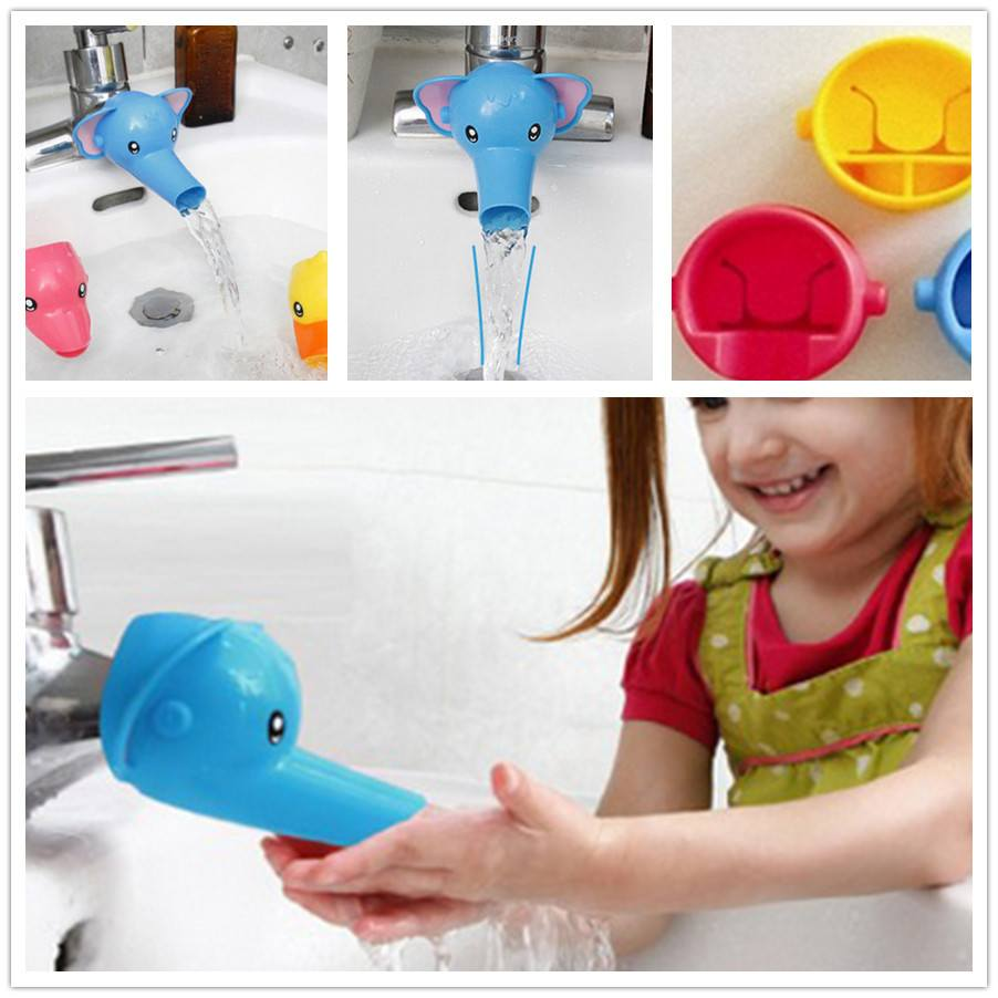 Fun Animals Faucet Extender For Babies - infant - Dnerds.com