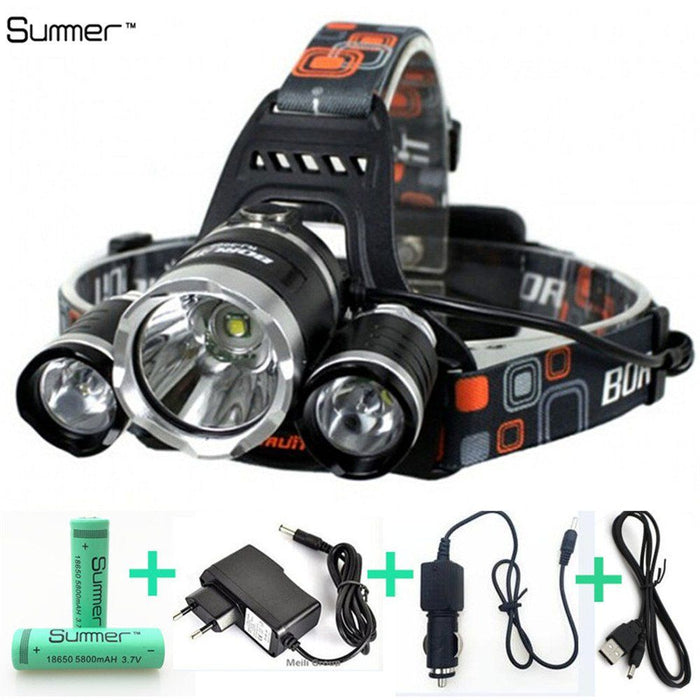 Ultra Bright Waterproof Head Lamp -  - Dnerds.com