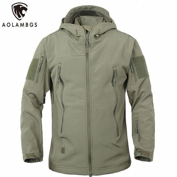 Tactical Waterproof Windbreaker Jacket