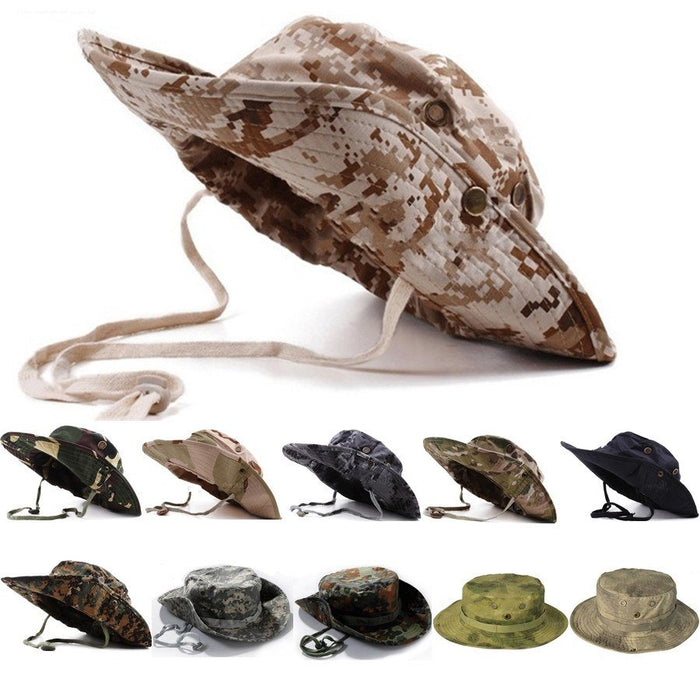 Tactical Airsoft Camo Hat -  - Dnerds.com