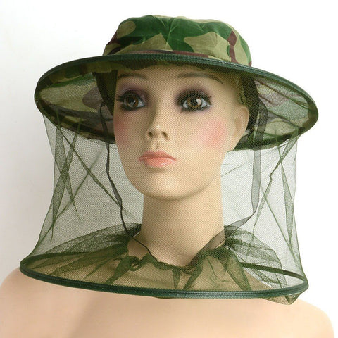 Mosquito Net Meshwith a Hat For Outdoors -  - Dnerds.com