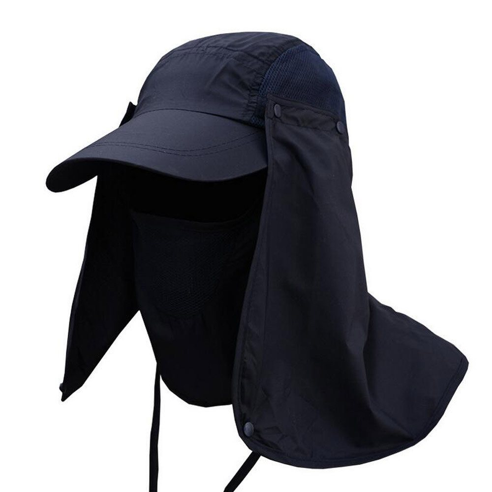 Mosquitos Protector Hat Big Detachable Net