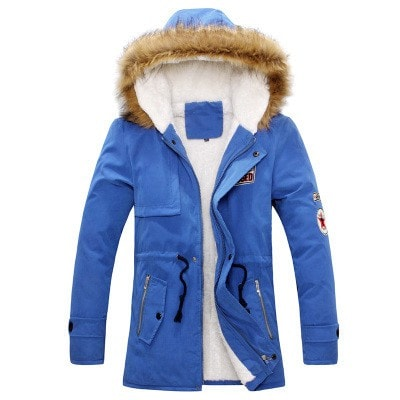 Fur Collar Thick Jacket