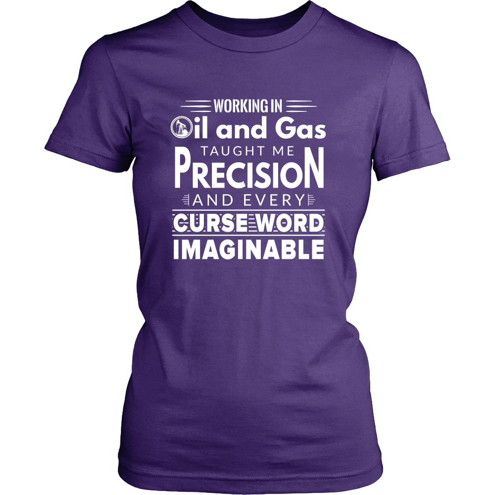 Working In Oil And Gas - T-shirt - Dnerds.com