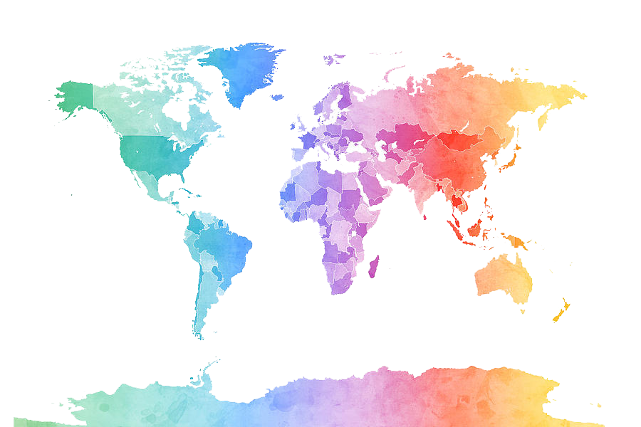 All World Map