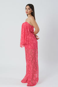 Chic Lace Jumpsuit By Fia Fashion-Jumpsuits-Secret Closet