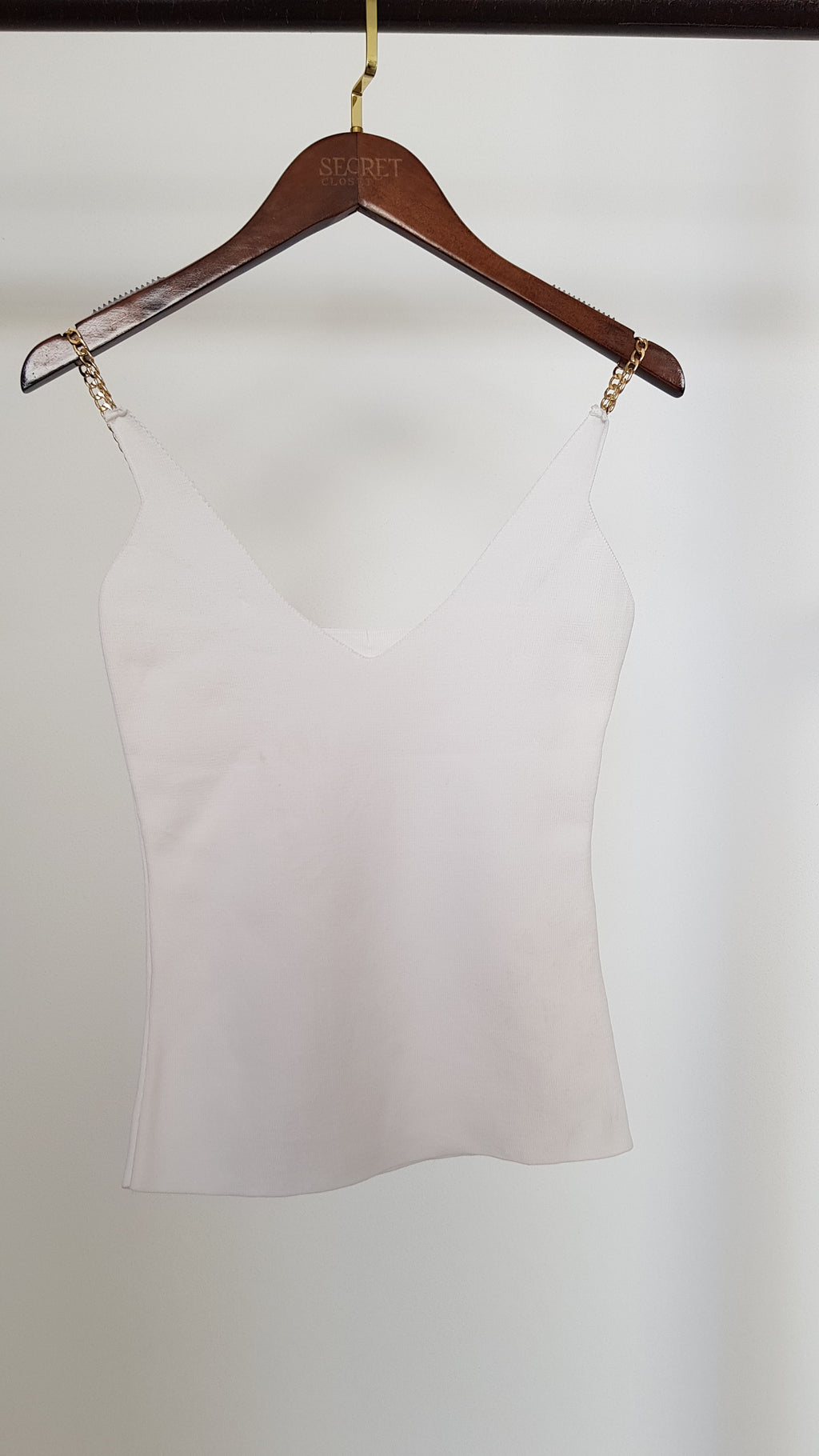 Sally Chain Strap Top-Top-Secret Closet