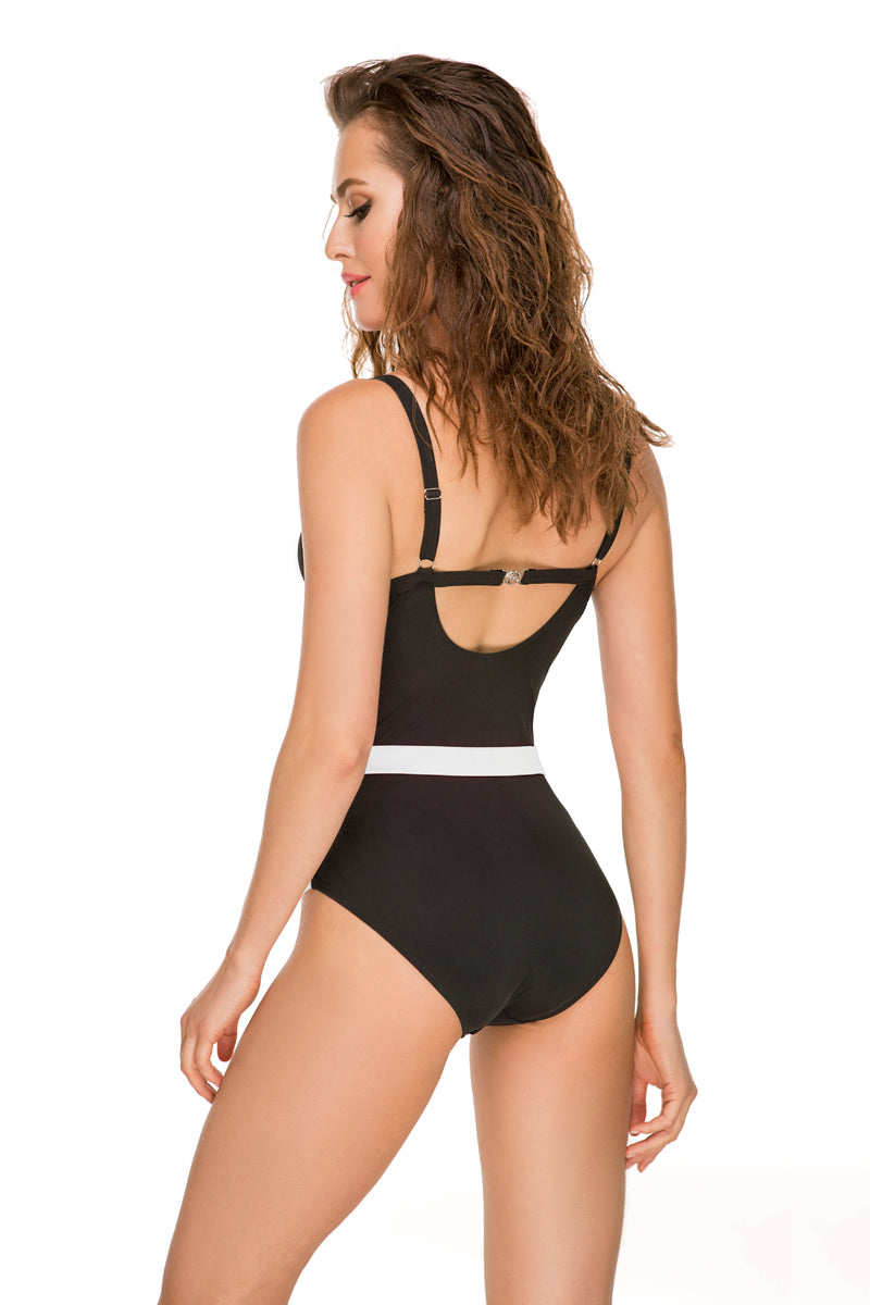 One Piece Swimsuit by Anabel Arto-Swimwear-Secret Closet