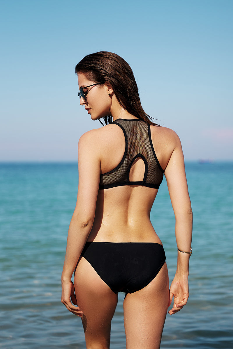 Glam and Sporty Bikini Set by Anabel Arto-Bikini-Secret Closet