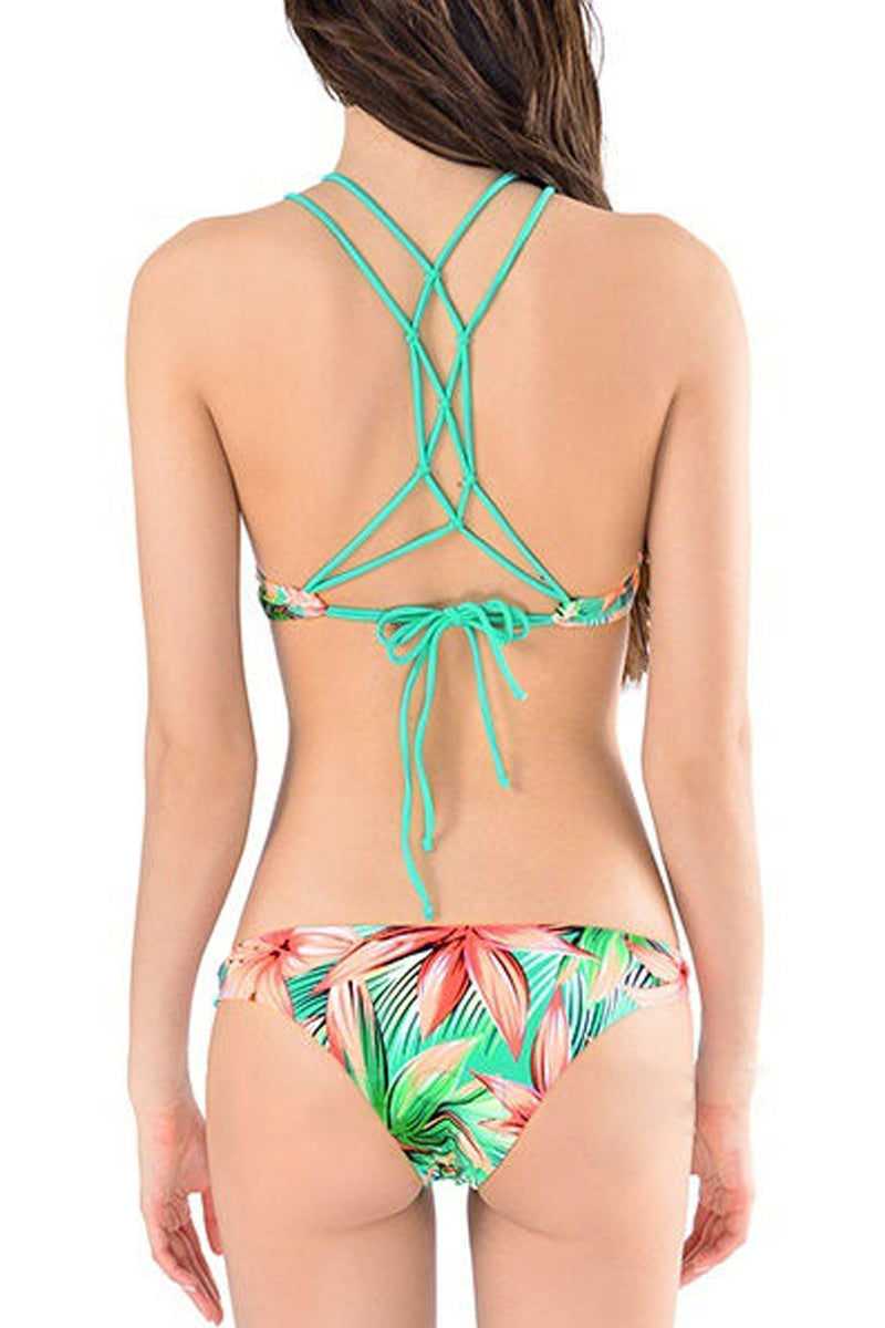 Two Piece Floral Bikini-Bikini-Secret Closet