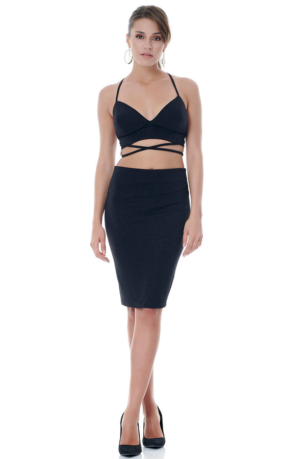 Elegant Pencil Skirt-Skirts-Secret Closet
