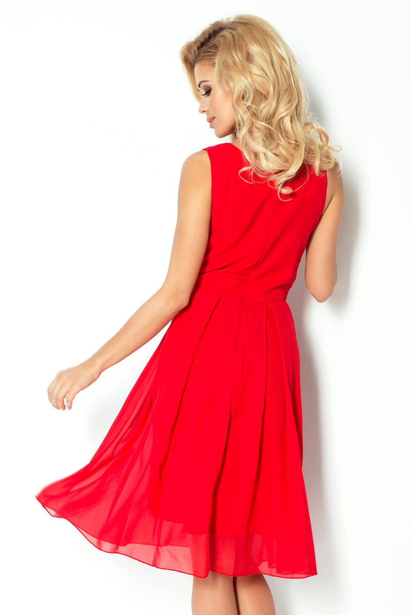 Chiffon Dress By Numoco (Kate Michael)-Dresses-Secret Closet