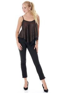 Chic Flared Loose Fit Blouse-Tops-Secret Closet