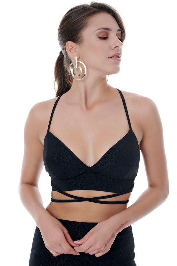 Elegant Crop Top-Tops-Secret Closet