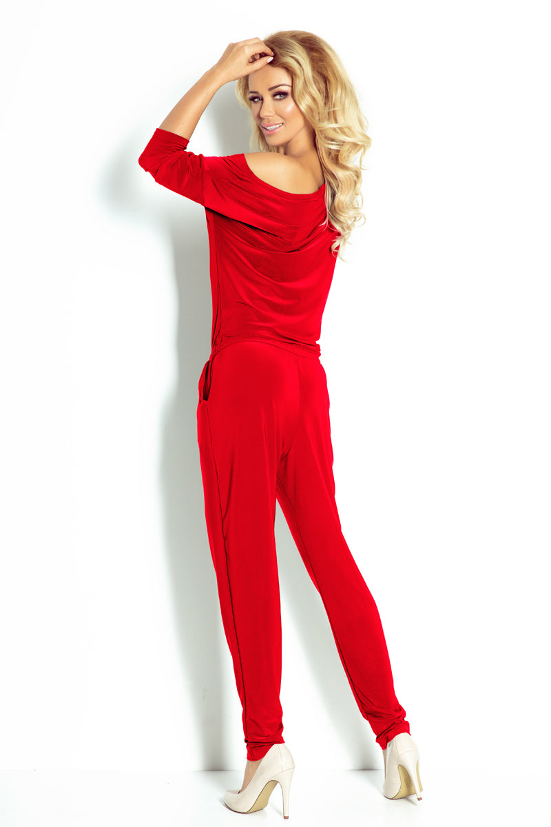 Elegant and Sporty Jumpsuit By Numoco-Jumpsuits-Secret Closet