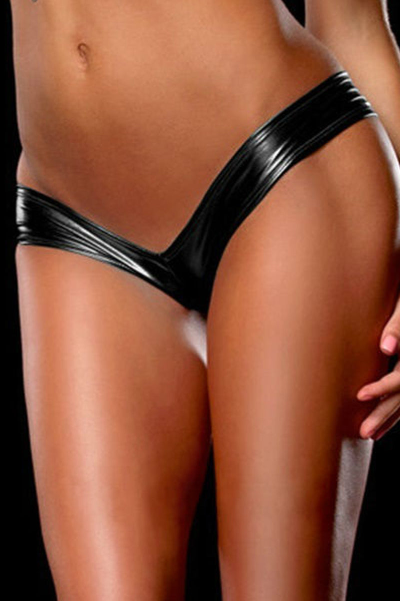 Vogue Multi-Colored Patent Leather Panty-Panties-Secret Closet
