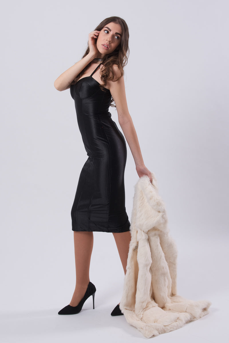 Evening Bodycon Dress-Dresses-Secret Closet