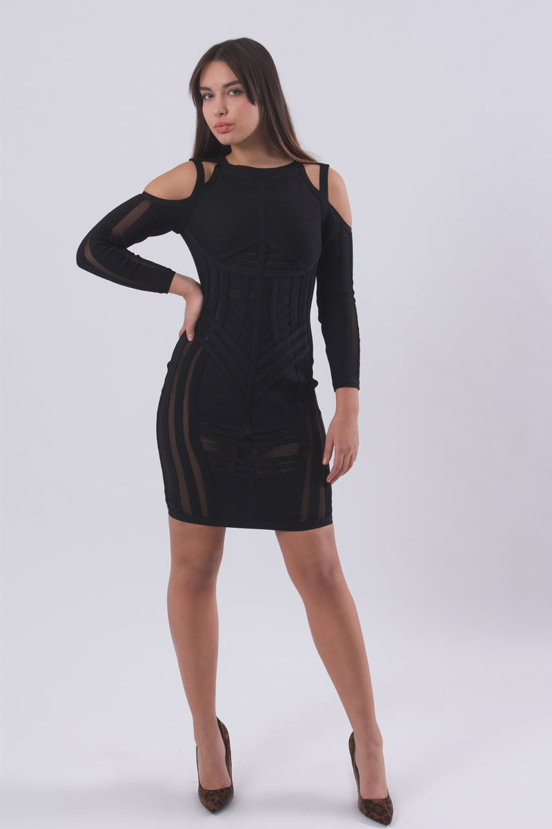 Sexy Bandage Dress-Dresses-Secret Closet