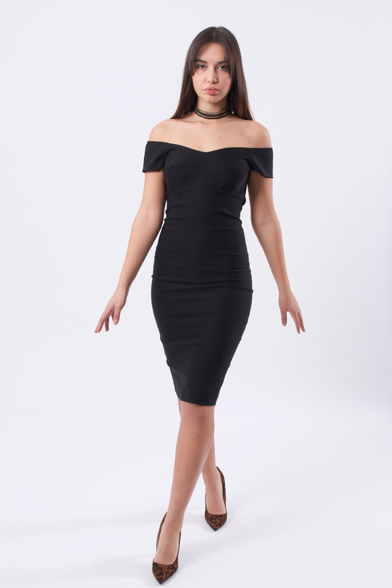 Elegant Bodycon Dress-Dresses-Secret Closet