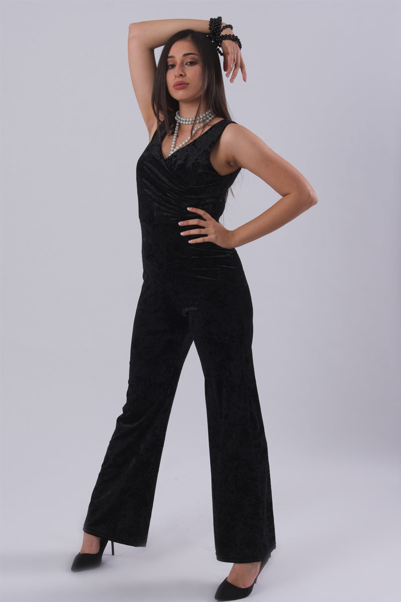Velour Jumpsuit-Jumpsuits-Secret Closet