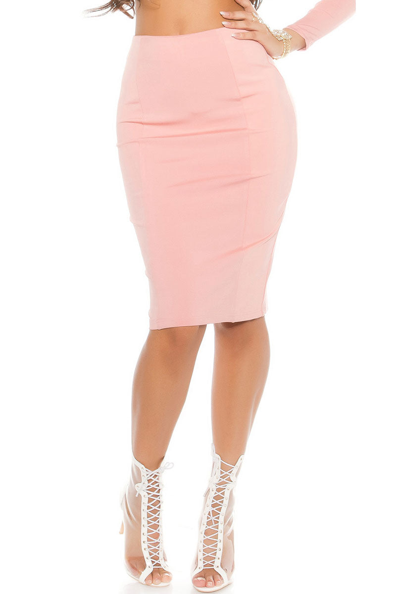 Basic Midi Skirt-Skirt-Secret Closet