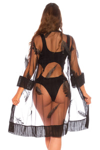 Transparent Beach Cover Up-Dress-Secret Closet