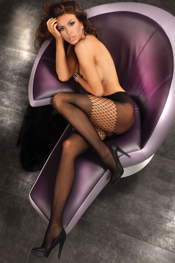 Alkyone - Fishnet Tights-Tights-Secret Closet