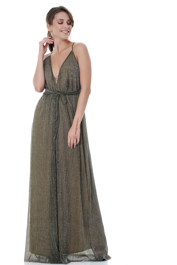 Glitter Maxi Dress-Dresses-Secret Closet