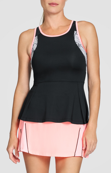 Tail ~ Taffy Maribella Peplum Tank