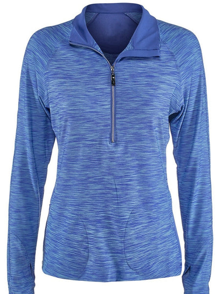 Bolle Ladies Tennis - Dragonfly Long Sleeve Pullover - mytennisstore.com