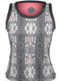 Bolle Ladies Tennis - Women's Serpentine Print Tennis Tank - mytennisstore.com