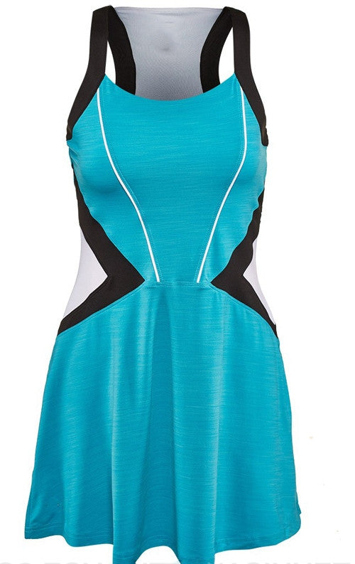 Bolle Uptown Girl Dress in Turquoise - mytennisstore.com